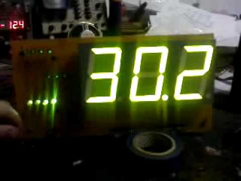 Watch on thermistor thermometer