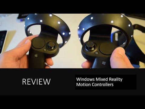 Full Review | Windows Mixed Reality Motion Controllers