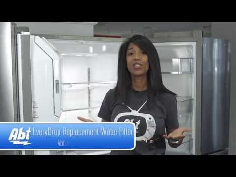 How To Replace The Water Filter On You Whirlpool Refrigerator Using Everydrop Filter