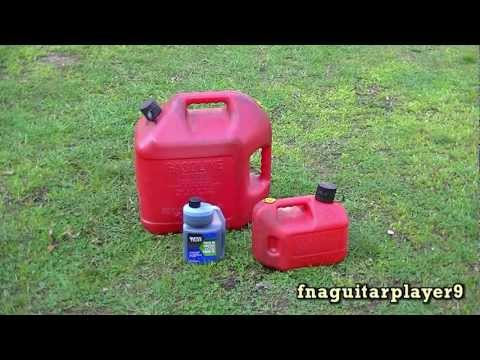 QUICK TIP #4 : How To Mix 2 stroke (Two cycle) Gas