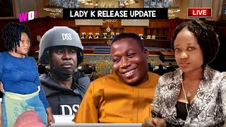 BREAKING LADY K RELEASE AS COURT ORDER DSS TO RELEASE HER NEXT WEEK - IGBOHO