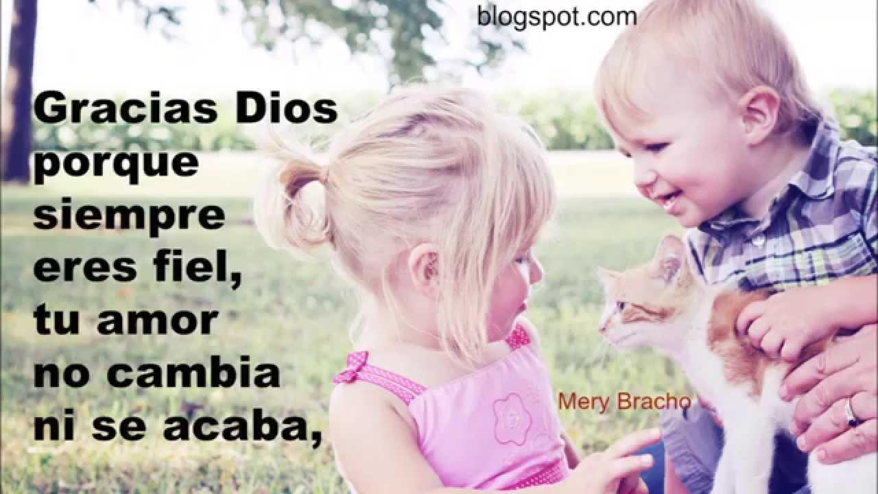 Frase De Agradecimento A Dios: Frases Cristianas Gracias Dios