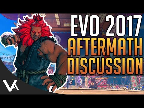 Evo 2017 - Tournament & Announcement Aftermath Discussion! VA Podcast