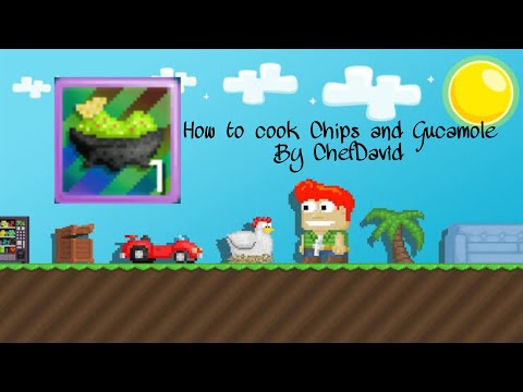 Growtopia   How to cook Chip and Guacamole