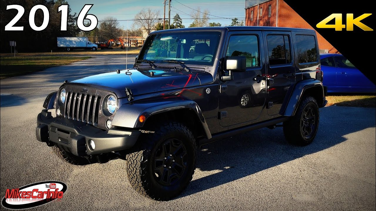 2016 Jeep Wrangler Unlimited Backcountry Ultimate In