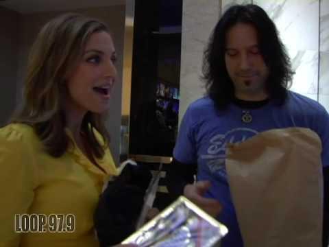 Eddie Webb goes to visit NBC's Paula Faris!