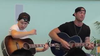 """Brett Young Performing """"Sleep Without You"""" 