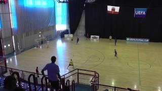 Sievi Futsal - Grorud IL 27.8.2015 (Uefa Futsal Cup)