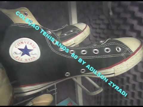 cebf9e2741e Coleção Tenis Anos 80 Sneakers Shoes Vintage By Adilson Zyradi - YouTube
