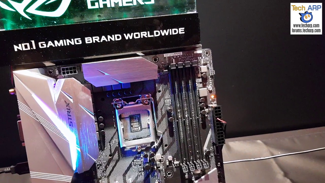 The ASUS ROG Maximus & ROG Strix Z370 Motherboards