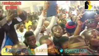 Amakye and Dede movie huge crowd premiere