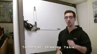 Technical Drawing Table - Video Tutorial - Recme