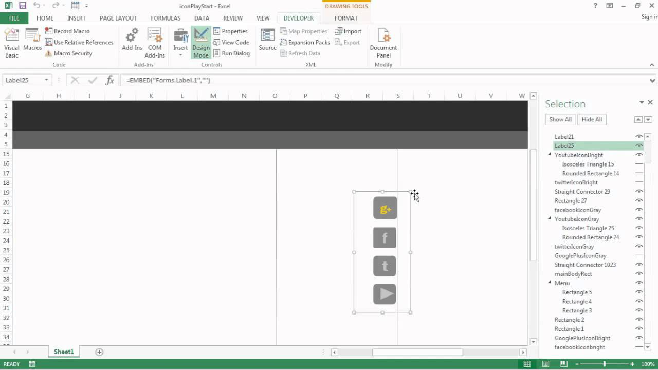 how to make web addresses links in excel