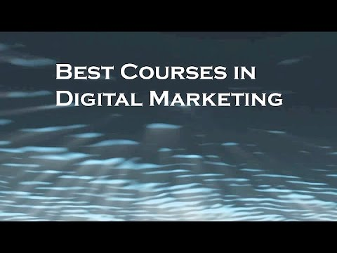 Best Courses in Digital Marketing