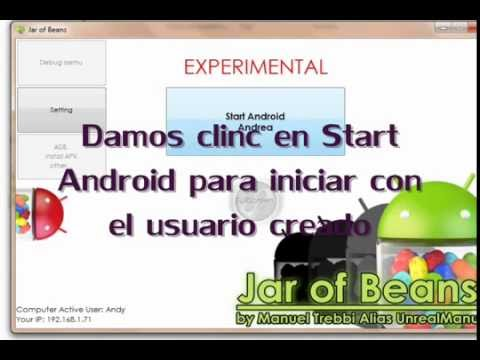 Emulador Jar Of Beans Para Jelly Bean Android