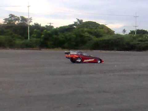 Dragster  1/4 scale Funnycar  INTIMIDATOR