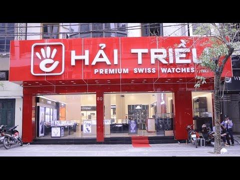 Góc Nhìn Toàn Cảnh Showroom Đồng Hồ Hải Triều Tại Hà Nội | Đồng Hồ Hải Triều