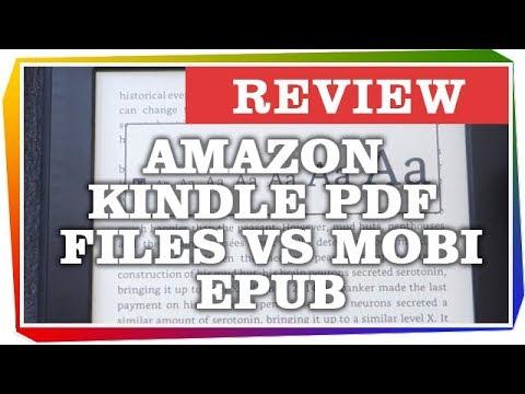 Amazon Kindle Pdf Files Vs Mobi Epub