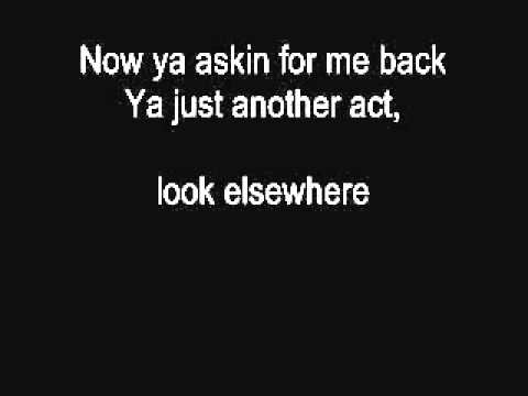 Eamon- Dont Want You Back Lyrics