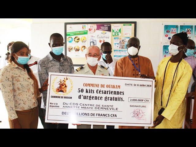Samba Bathily Diallo réceptionne un 2ème bloc opératoire au Centre de Santé Annette Mbayed'Erneville