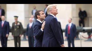 Männerfreundschaft: Französischer Präsident Macron zu Staatsbesuch bei US-Präsident Trump