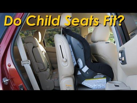 2015 Nissan Pathfinder / Infiniti QX60 Child Seat Review - In 4K