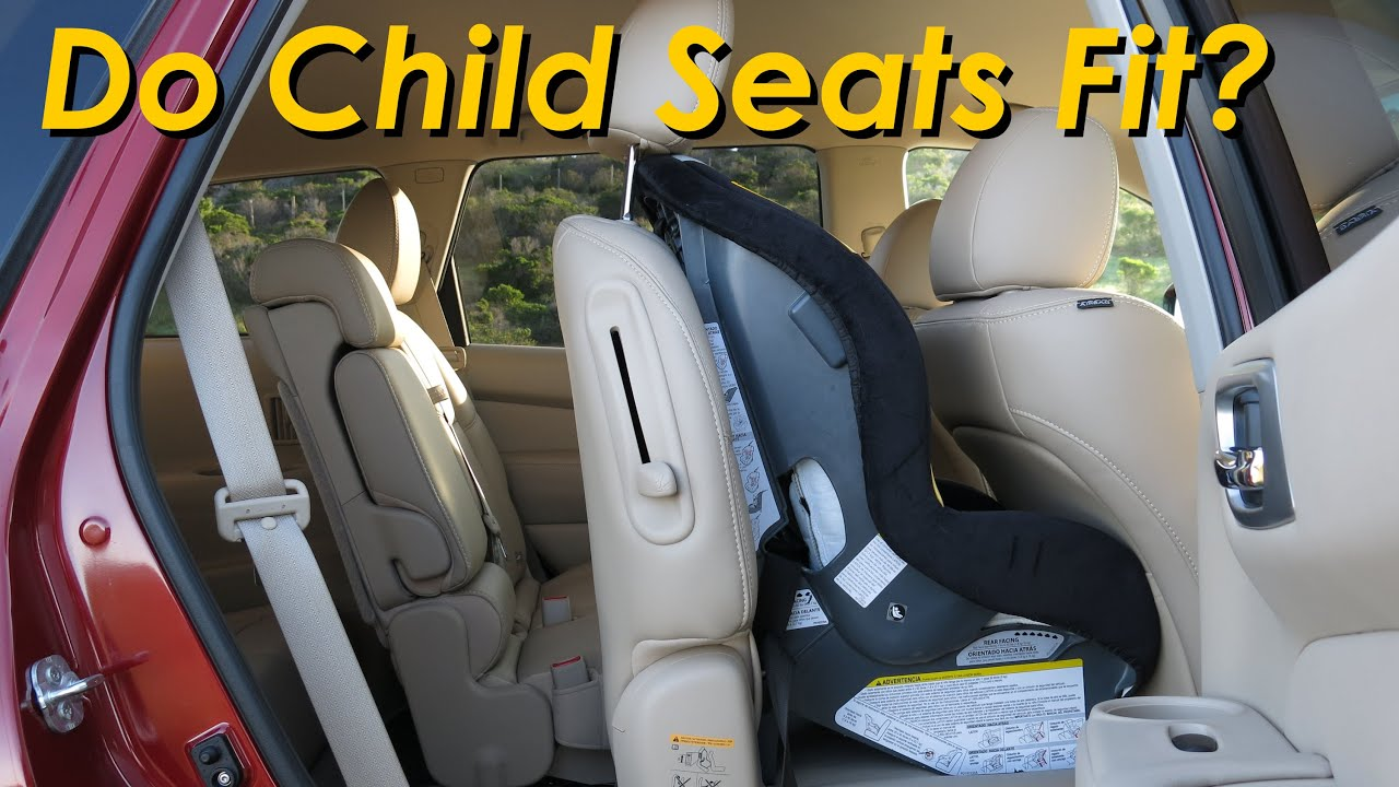 Nissan Pathfinder Infiniti Child Seat Review In