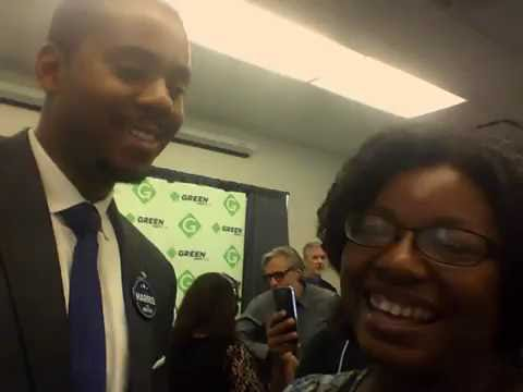 INTERVIEW WITH JOSHUA HARRIS GREEN CANDIATE FOR MAYOR BALTIMORE