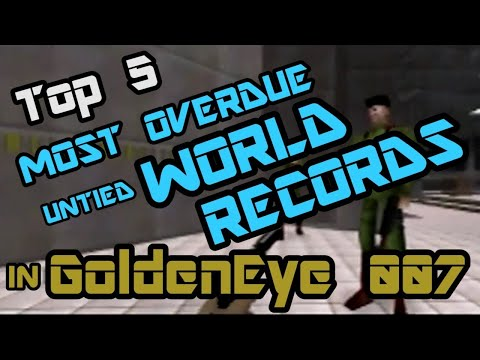 Top 5 Most Overdue but Completely Possible Untied World Records in GoldenEye 007 Speedrunning