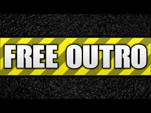 How To Make An Outro FOR FREE!: Today I am going to be teaching you how to make a Youtube outro for absolutely free in 2016 / 2017! With this tutorial, you can make a free outro for your Youtube videos with no Photoshop and not even have to download anything! Let me know what you think of this free Youtube outro tutorial!  Vectr: http://vectr.com Icons: https://colorlib.com/wp/free-flat-social-media-icons-sets/ ___  → Become a ZIOVIAN: http://bit.ly/subziovo  → CHECK OUT my second channel! http://bit.ly/ziovotv  → Facebook: http://facebook.com/ziovotv → Twitter: http://twitter.com/ziovo_ → Instagram: http://instagram/ziovo → Twitch: http://twitch.tv/ziovo → Snapchat: ziovo ___  Music: http://youtube.com/chukimusic ♫ Intro Designer: xFoks Intro Song: Lookas - Genesis Thanks for watching! ❤  - Ziovo ♛