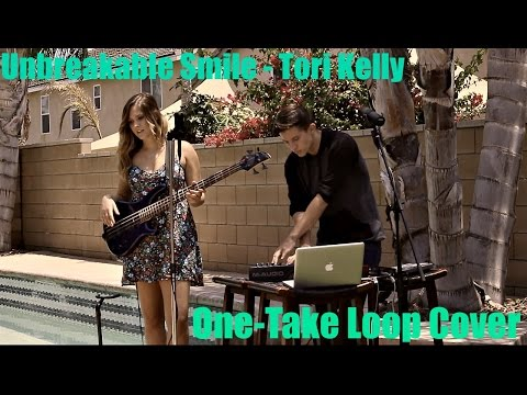 Unbreakable Smile - Tori Kelly - One Take Loop Cover by Jake Roque and Hannah Stadnick
