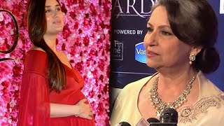 "Sharmila Tagore Said the Sweetest Thing About ""Kareena Kapoor Khan"" At Lux Golden Rose Awards 2016"