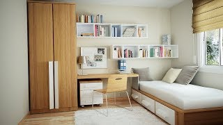 Space Saving Ideas For Small Bedroom | Space-Saving Solutions for Small Bedrooms