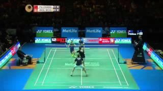cool highlights md badminton rally boemogensen vs fuzhang in final all england 2015