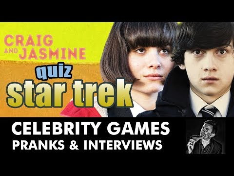 Welsh or Klingon STAR TREK QUIZ? SUBMARINE, CRAIG ROBERTS, YASMIN PAIGE - INTERVIEW by Kevin Durham