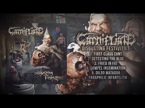 CARNIFLIATE - DISGUSTING FESTIVITIES [OFFICIAL ALBUM STREAM] (2019) SW EXCLUSIVE