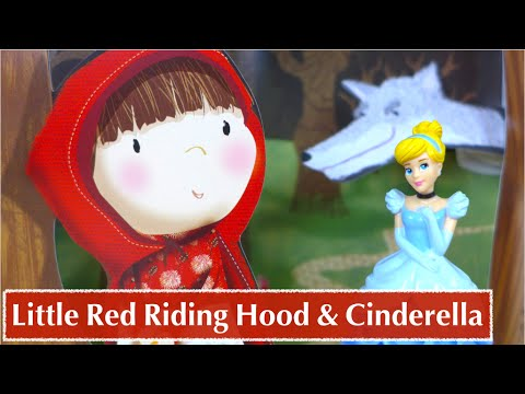 Cinderella Meets Little Red Riding Hood Pop-Up Book Style