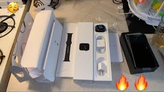 UNBOXING IPHONE 11 PRO MAX (Midnight Green) + APPLE WATCH SERIES 5 + Review