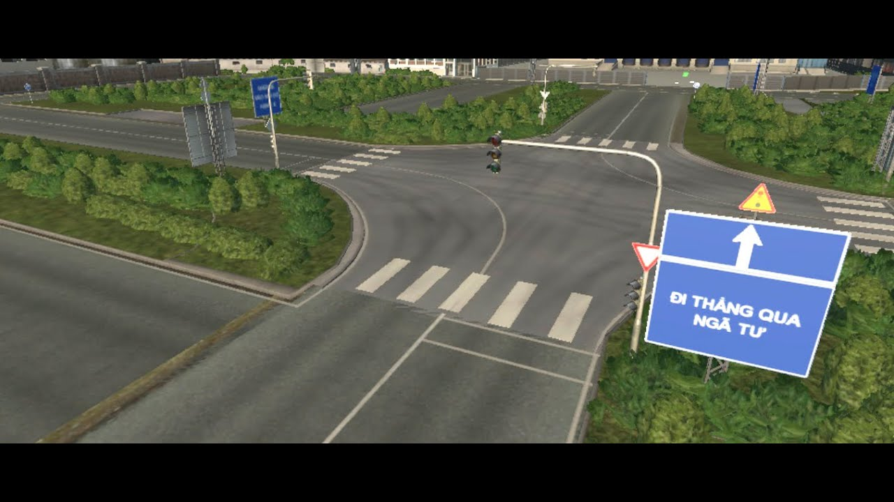 Phần mềm giả lập thi sa hình lái xe hạng B1, B2, C, D, E