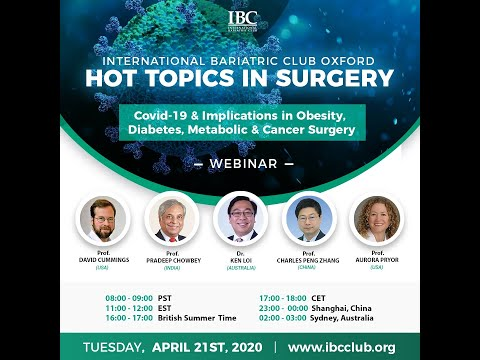 Covid-19 & Implications In Obesity, Diabetes, Metabolic &  Cancer Surgery