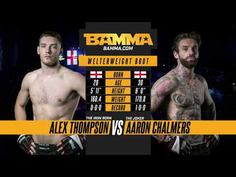 BAMMA 31: Alex Thompson vs Aaron Chalmers