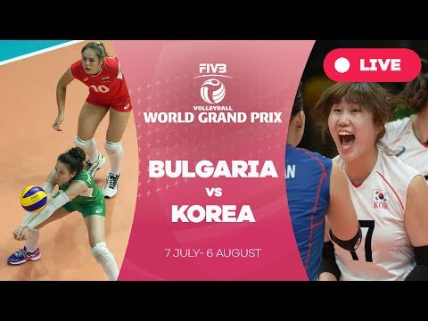 Bulgaria v Korea - Group 2: 2017 FIVB Volleyball World Grand Prix
