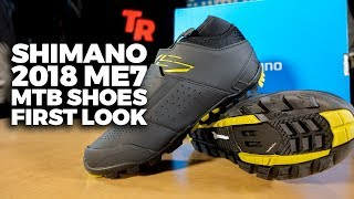 2018 Shimano ME7 Enduro MTB Shoes - THE RIDE's First Look!