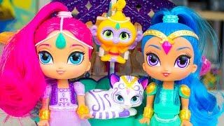 Shimmer and Shine Toys Float & Sing Palace Friends Kid Friendly Nickelodeon Toy Kinder Playtime