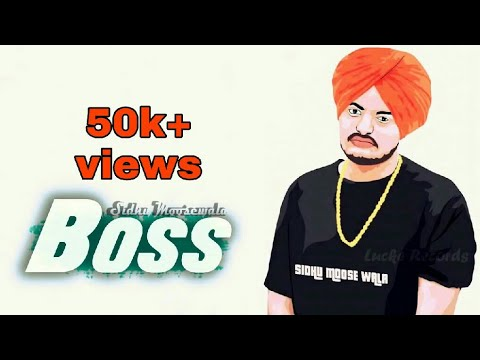 BOSS (Leaked Songs) - Sidhu Moose Wala | Byg Byrd | Punjabi New Songs 2017