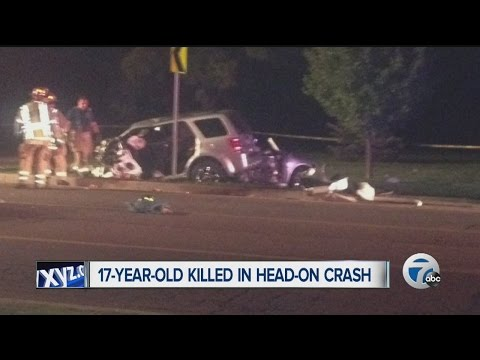 17-year-old Sterling Heights girl killed in head-on crash