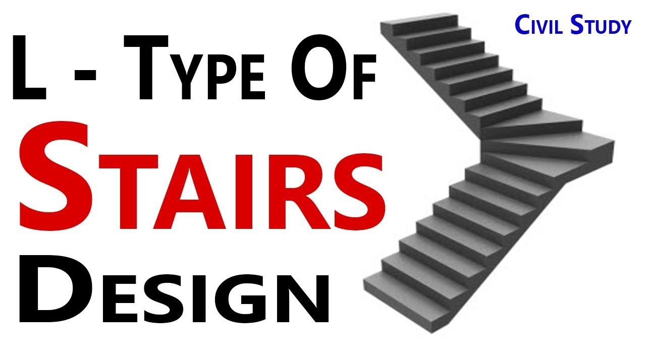 Stairs Design - How To Design L - Type Stairs - Stair ...