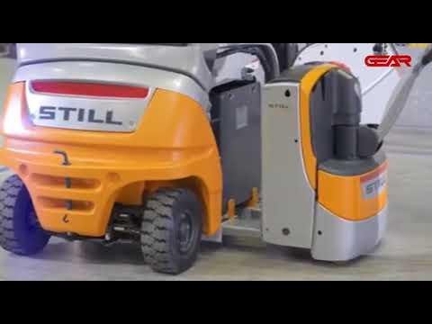 Battery Changing Process - Other Forklifts V/s STILL (German-make) Forklift