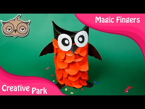 DIY Crafts   How To Make A Paper Owl