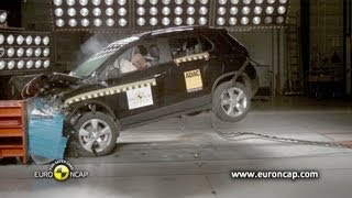 CRASH TEST ► Chevrolet Trax 2013